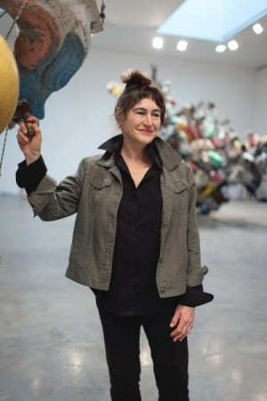 Nancy Rubins at the Gagosian
